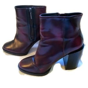Zara Trafaluc Zip Ankle Boot Size 38/8